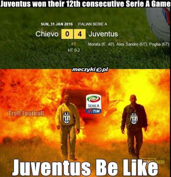 Juventus niepokonany od 12 spotkań