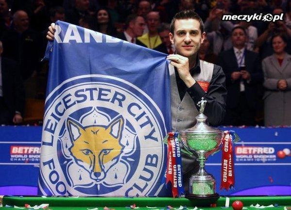 Podwójna radość w Leicester. Selby mistrzem świata w snookerze!