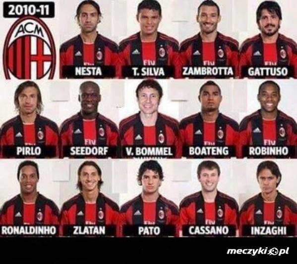 Milan 2010/2011