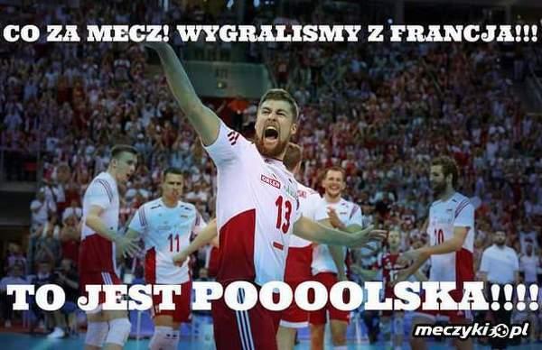 Polska wygrywa z Francją !!!
