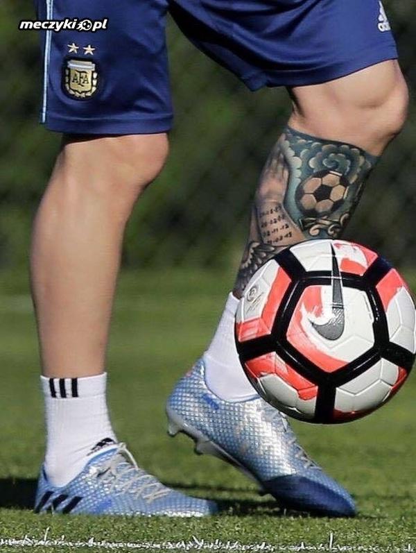 Nowy Tatuaż Messiego Sportbuzz Meczykipl