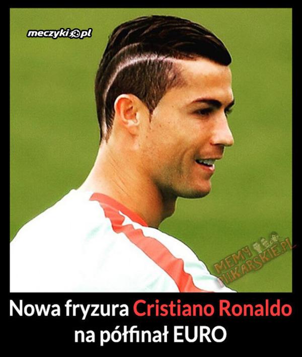 Nowa Fryzura Cristiano Ronaldo Na Półfinał Euro Sportbuzz Meczykipl
