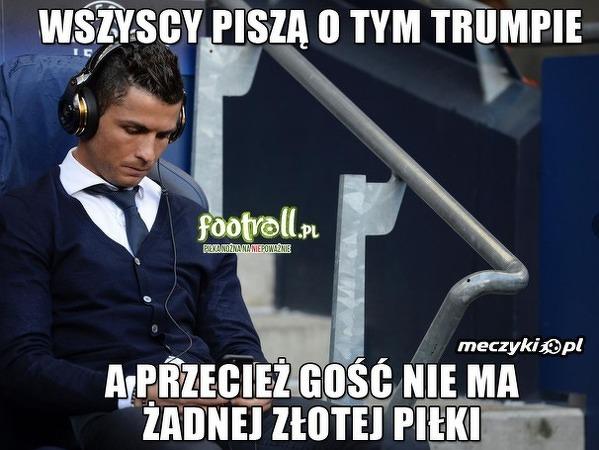 Zdziwiony Ronaldo