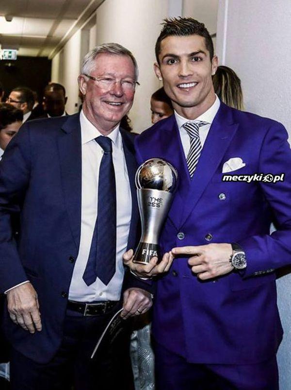 Sir Alex Ferguson i Ronaldo