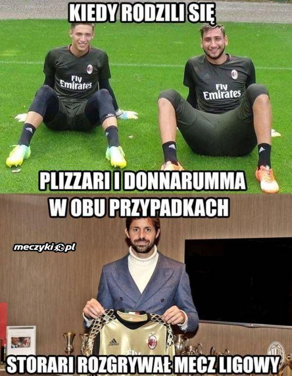 Różnica wieku między bramkarzami Milanu