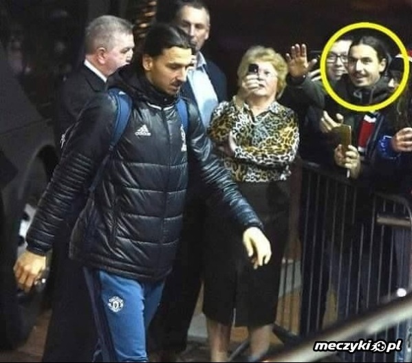 Zlatan podziwia Zlatana