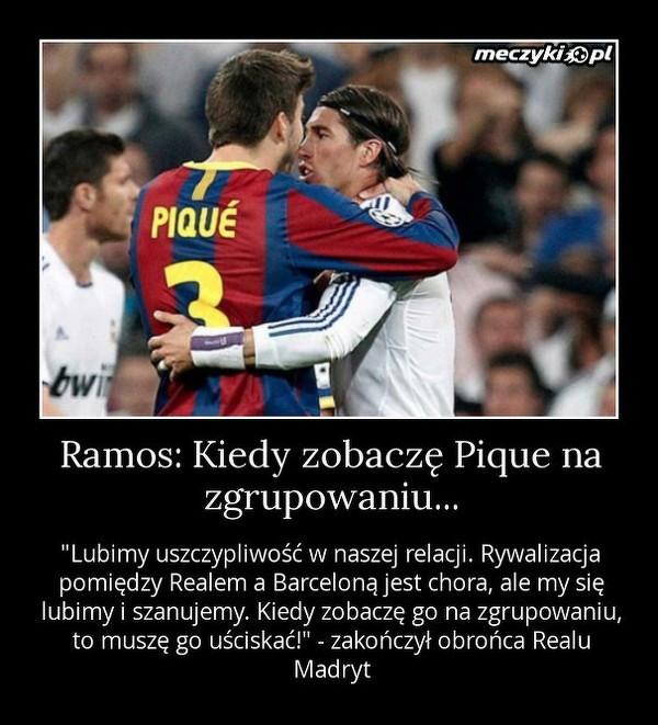 Kiedy Ramos zobaczy Pique...