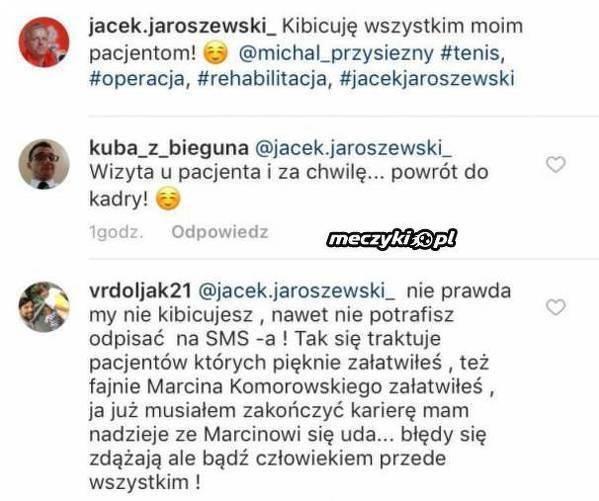 Vrdoljak zaatakował lekarza reprezentacji Polski