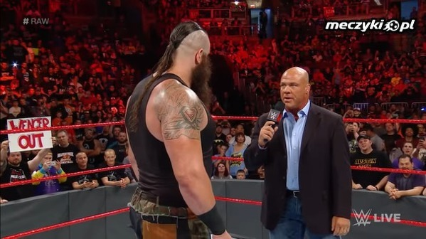 Wenger out na gali WWE