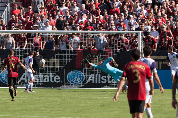 Atlanta United wygrywa na wyjeździe. Trzy gole najlepszej drużyny MLS