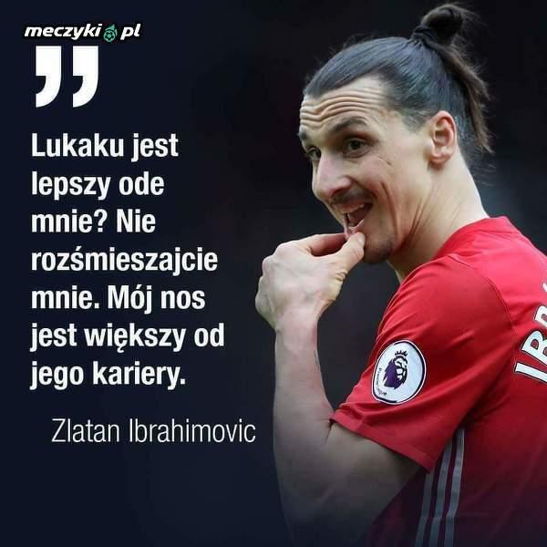 Zlatan podsumował karierę Lukaku