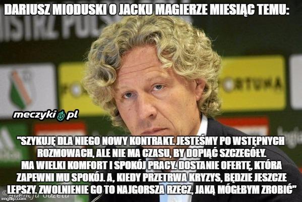 Dariusz Mioduski o Jacku Magierze