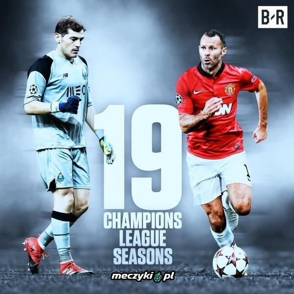Dwie legendy zagrały najwięcej sezonów w historii LM