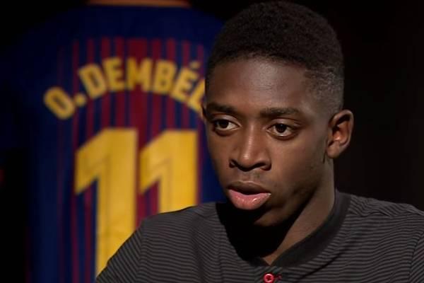Kolejna kontuzja Ousmane Dembele. Może pauzować nawet przez miesiąc