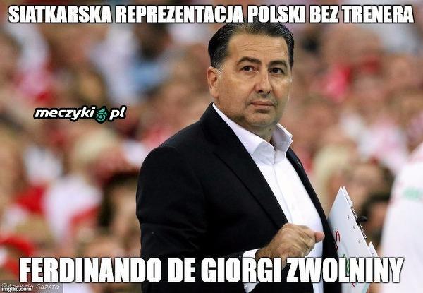 Polscy siatkarze bez trenera!