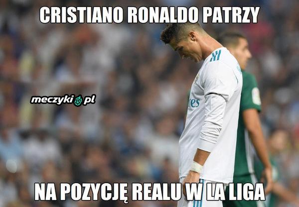 Cristiano Ronaldo pokazał, jak nisko upadł Real Madryt