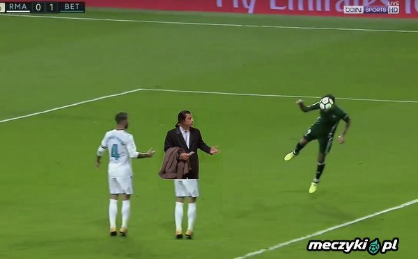 Ramos przy golu Antonio Sanabri