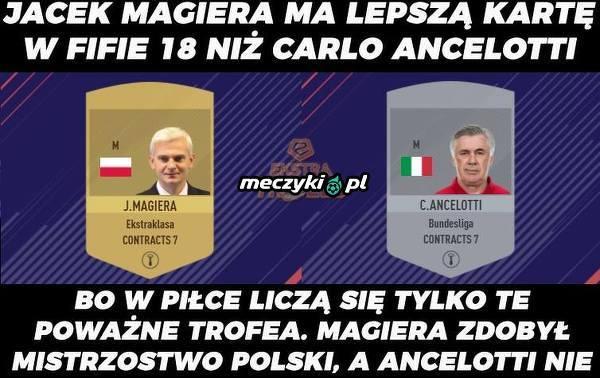 Magiera lepszy od Ancelottiego