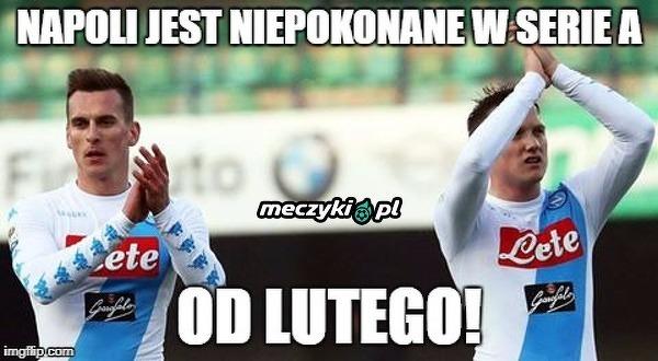 Niepokonani w Serie A od lutego!