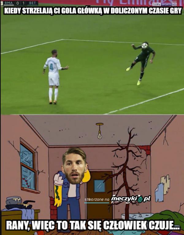 Ramos pokonany własną bronią