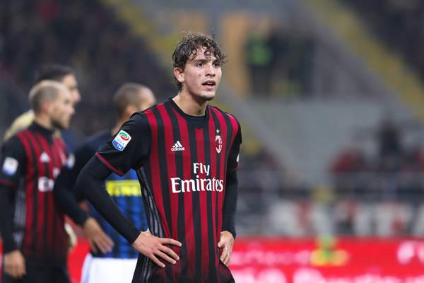 Sassuolo zainteresowane młodym pomocnikiem Milanu