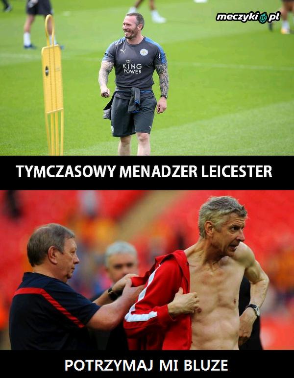 Wenger wkracza do akcji