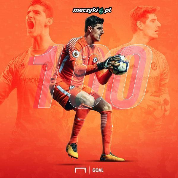 Thibaut Courtois wystąpił 100 razy w barwach Chelsea