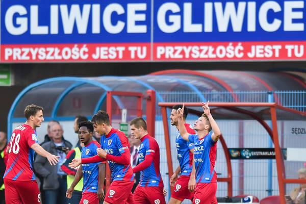 Piast Gliwice wygrał z Arką Gdynia