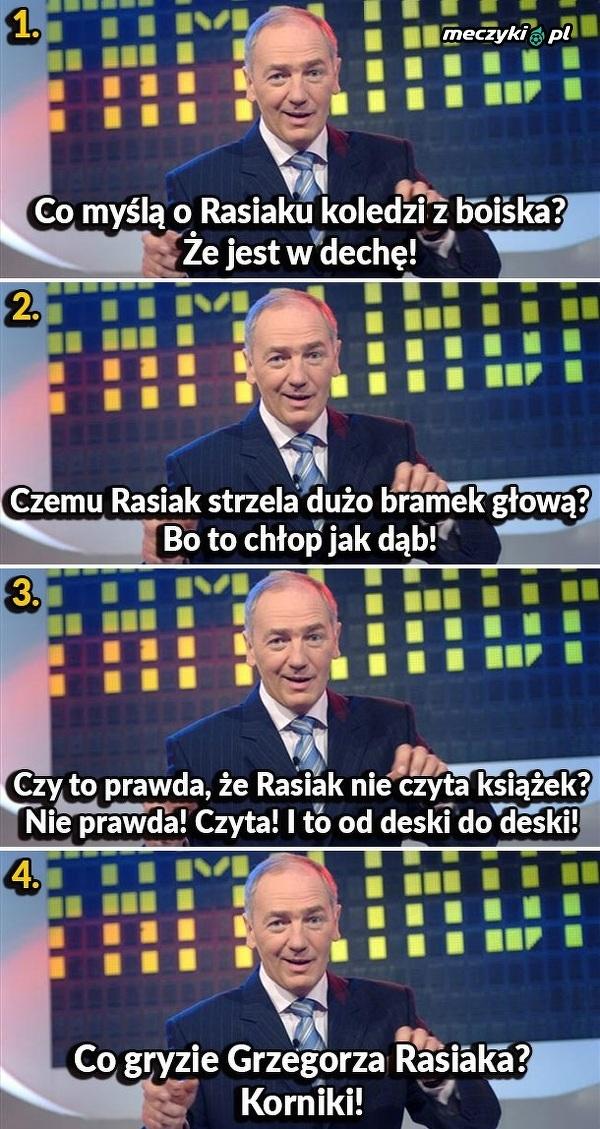 Najlepsze żarty o Rasiaku