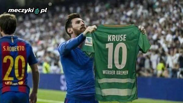 Pierwsze zwycięstwo Werderu w sezonie, 4 bramki zdobył Kruse