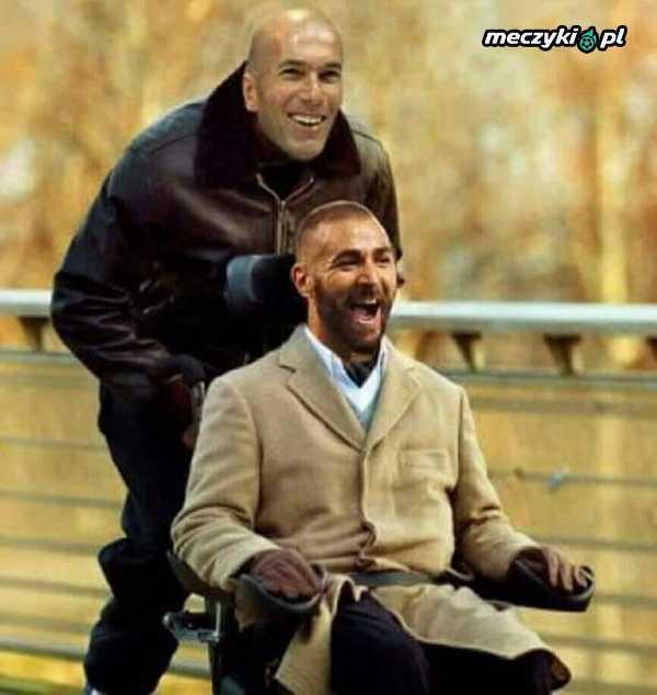 Benzema w meczu z Atletico