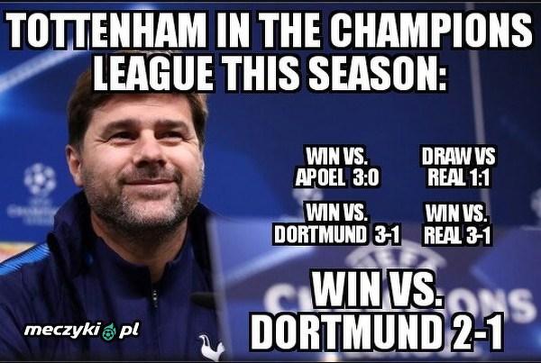 Tottenham błyszczy w LM