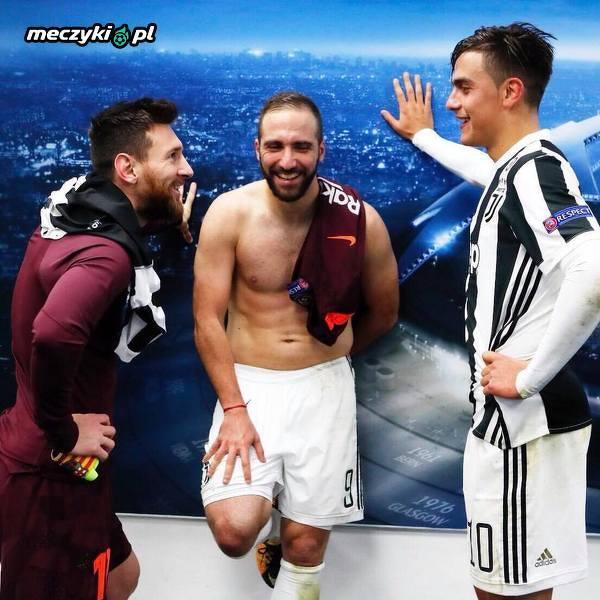 Argentyńskie Trio po meczu