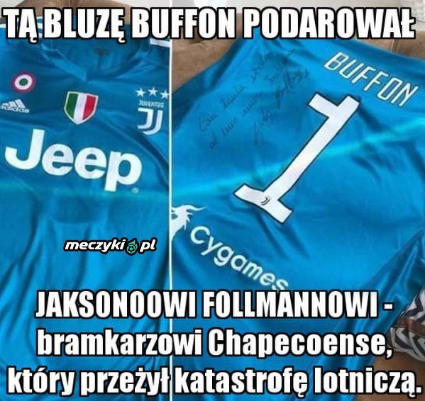 Prezent od Buffona