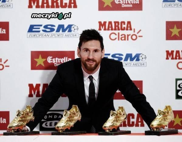 """Messi i jego """"Złote buty"""""""