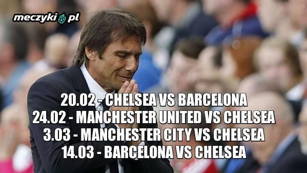 Terminarz Chelsea