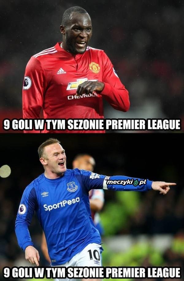 Lukaku i Rooney idą łeb w łeb!