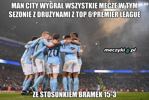 City miażdży rywali w Premier League