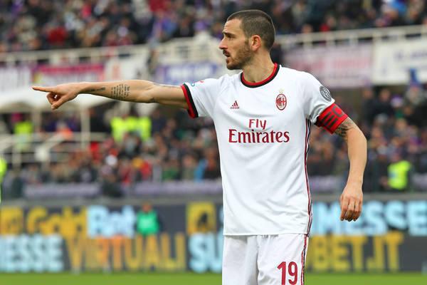 Bonucci odejdzie z Milanu? Chcą go dwa kluby