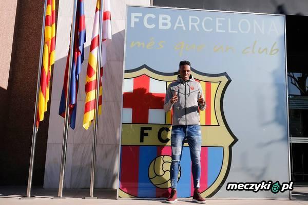 Yerry Mina zawodnikiem Barcelony