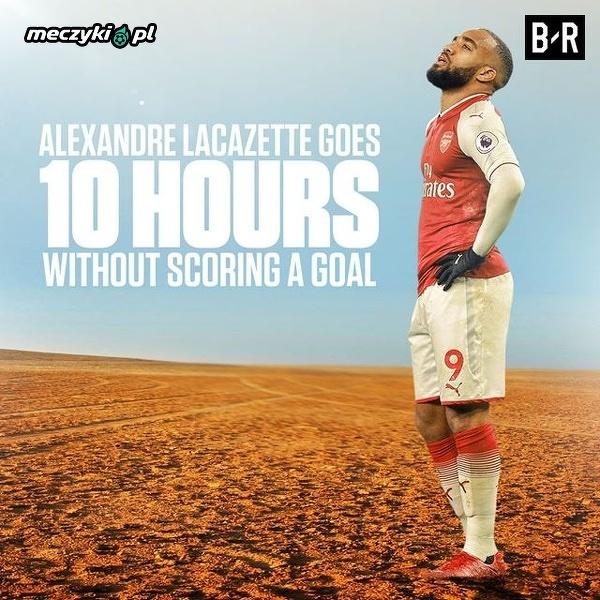 Miał być hitem transferowym Arsenalu, a nie może strzelić gola