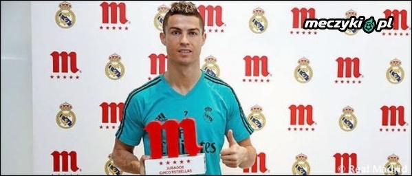 Cristiano Ronaldo wybrany najlepszym piłkarzem Realu w grudniu