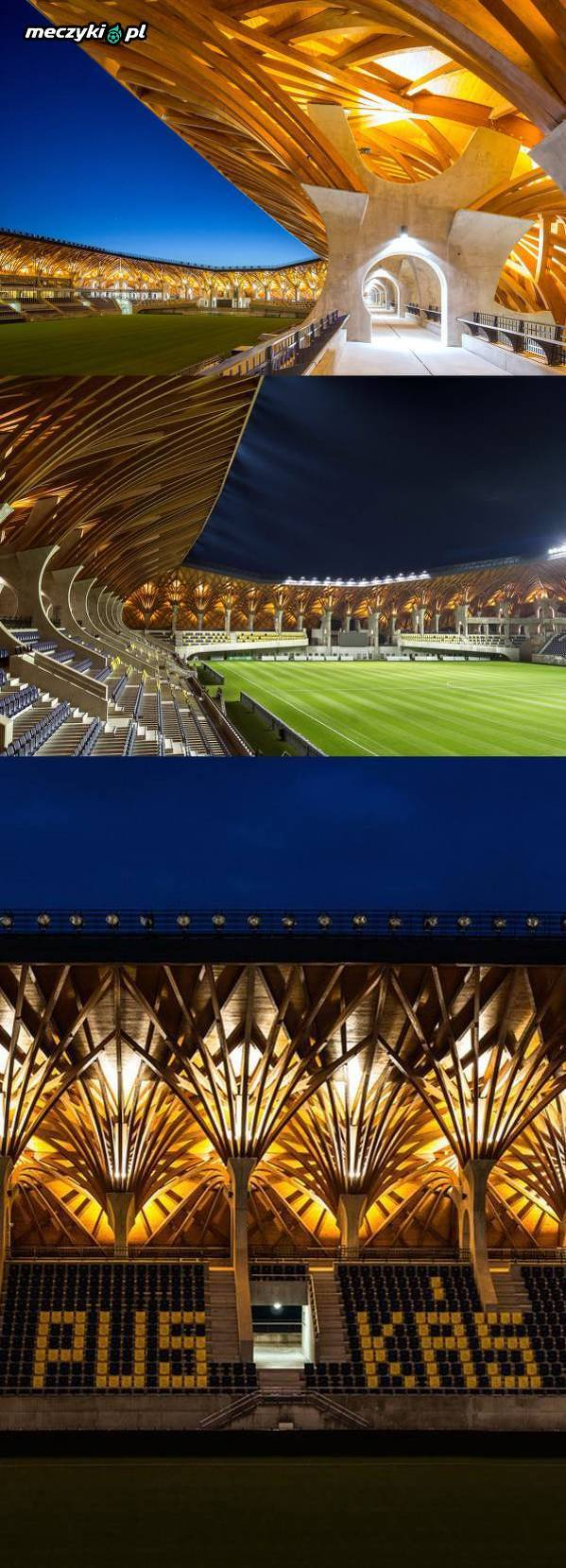 Niesamowity stadion na Węgrzech