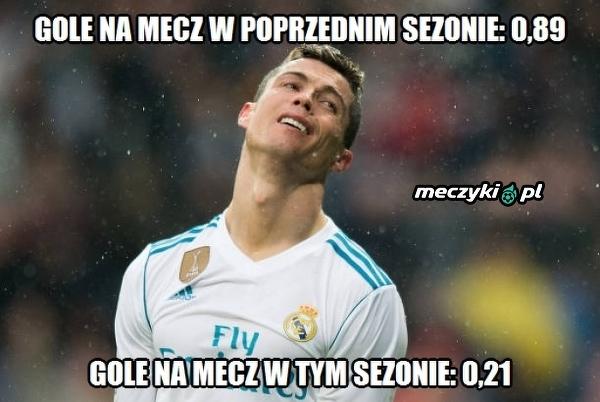 Ronaldo notuje właśnie największy upadek w karierze