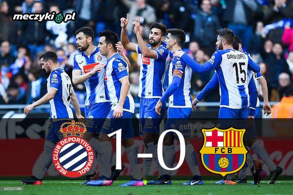 Espanyol kończy passę Barcy bez porażki