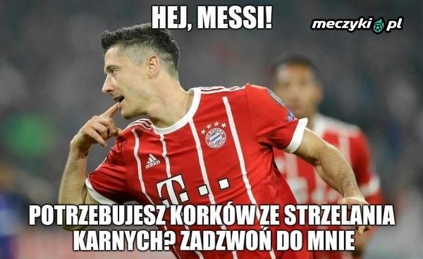 W tym aspekcie Messi mógłby sporo nauczyć się od Lewandowskiego