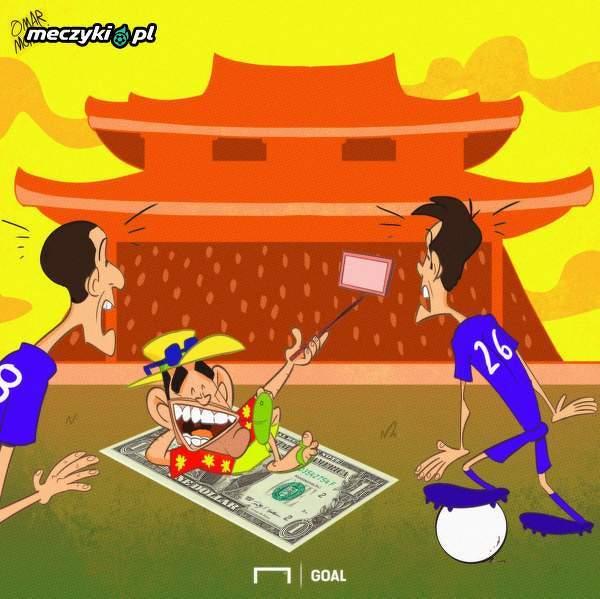 Tevez i wakacje w Chinach