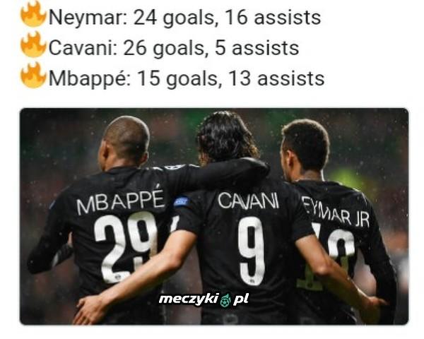 Świetne trio