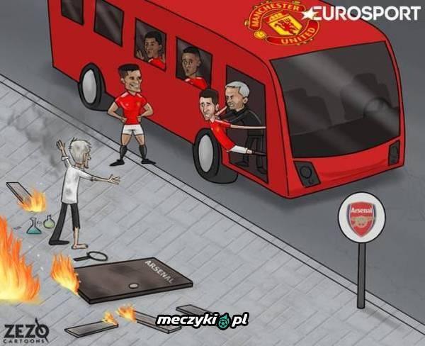 Wymiana na linii United - Arsenal