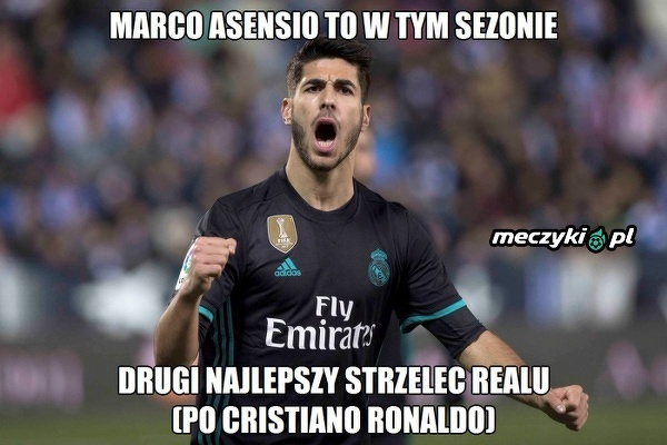 Asensio w tym sezonie wyrósł na jednego z największych liderów Realu